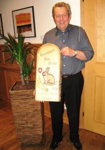 Ehrenmitglied Paul Knecht